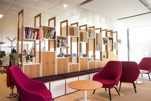 Furniture installation for business in New York