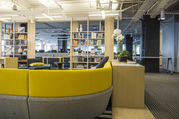 New office furniture installation in New York