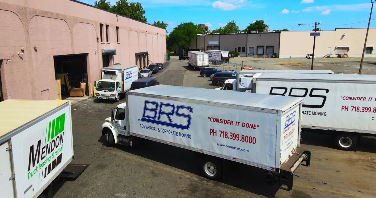 Office Movers BRS Warehouse location Secaucus NJ