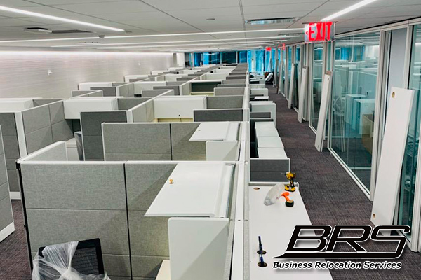 Furniture Installation for Business BRSmove New York.
