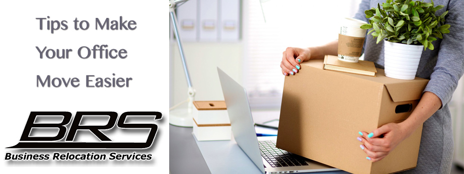 Tips to make your office move easier BRS move