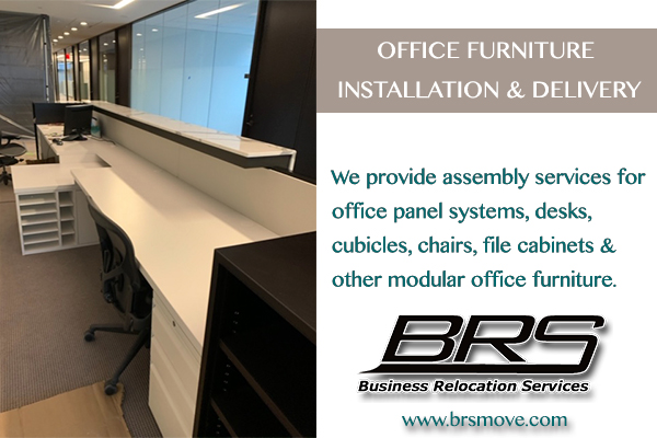 Business Relocation Office Assembly Furniture Installation