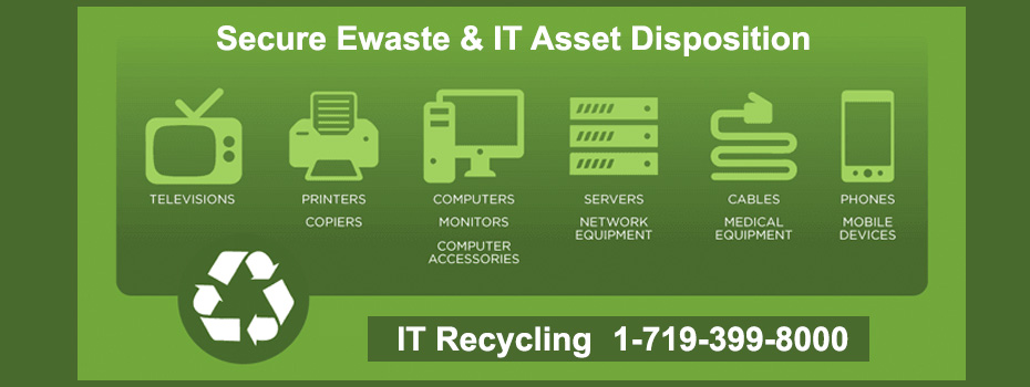 Secure E-waste and IT Asset Disposition