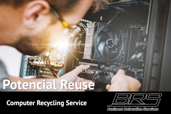 potencial reuse computer recycling services