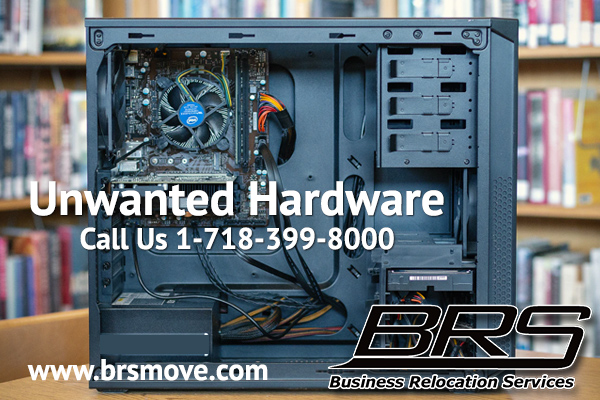 unwanted hardware computers recycling brs move